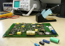 Réparation au composant